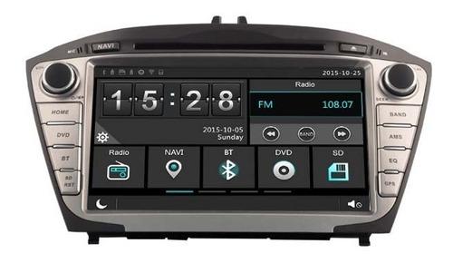 Radio Navegador Carro Hyundai Ix35 2009-17 Gps Bluetooth