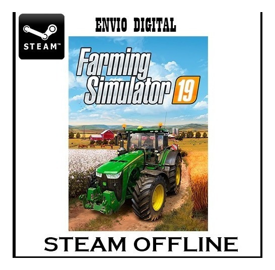 Farming Simulator 2019 Original Steam Offline Envio Imediato
