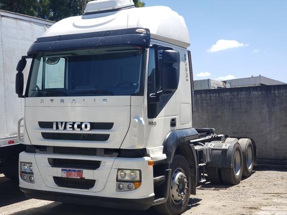 Iveco Stralis 380 Ano 2011 Truck 6x2 Teto Alto