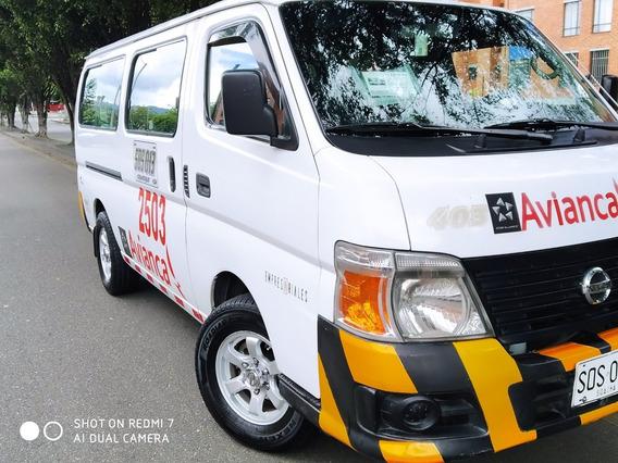 Vendo Nissan Urban 2013, 16 Puestos, Excelente Estado.