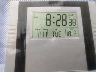 Reloj Escritorio Pared Tiempo Alarma Calendario