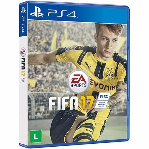 Jogo De Futebol Play 4 Fifa 17 Novo Lacrado Cd Original