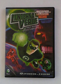 Dvd Dc Comics Linterna Verde La Serie Animada