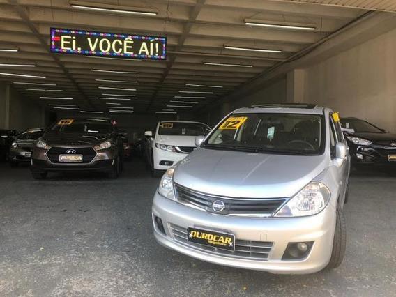 Nissan Tiida Sl 1.8 Mec. 2012 - Teto Solar