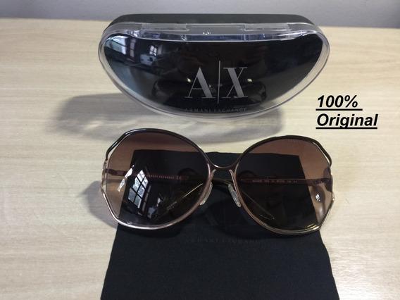 Oculos De Sol Feminino Armani Exchange Ax143/s Original