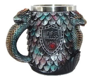 Taza Tarro Targaryen Blood And Fire Game Of Thrones Medieval