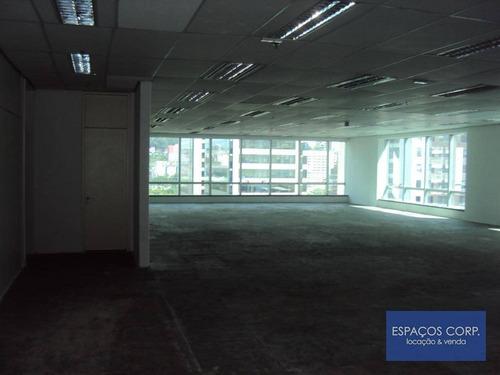 Conjunto Comercial Para Alugar, 330m² - Brooklin - São Paulo/sp - Cj2406