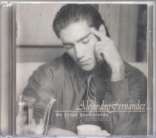 Alejandro Fernandez Me Estoy Enamorando Cd Original Usado J