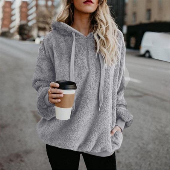 Sovalro Más Tamaño De Mujeres Sweatershirt Abrigo De Invie