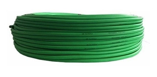 Cable Mono Verde Fluor 6mm X Metro Para Instrumento Plug Ts