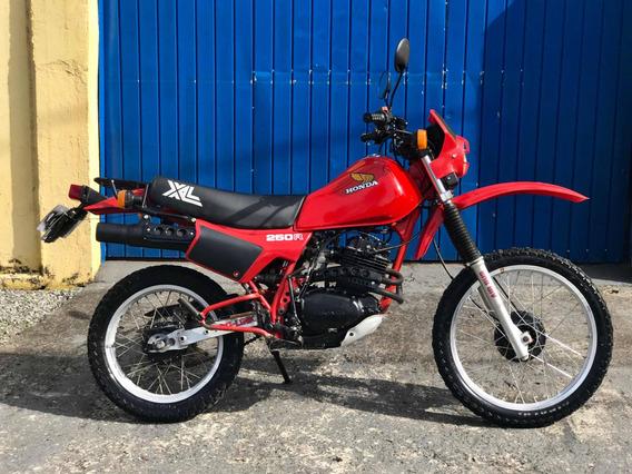 Honda Xl 250 R 1984