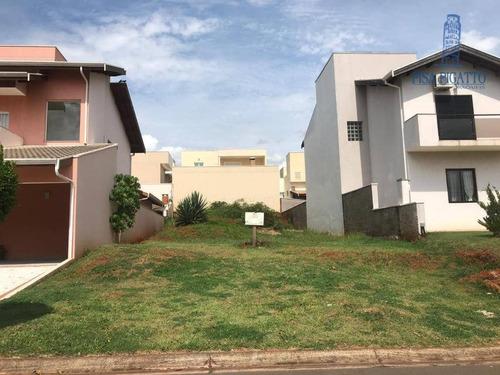 Terreno À Venda, 300 M² Por R$ 220.000,00 - Condomínio Raizes - Paulínia/sp - Te0663