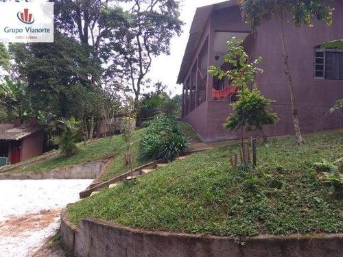 Chácara A Venda No Bairro Centro Em Mairiporã - Sp.  - P0163-1