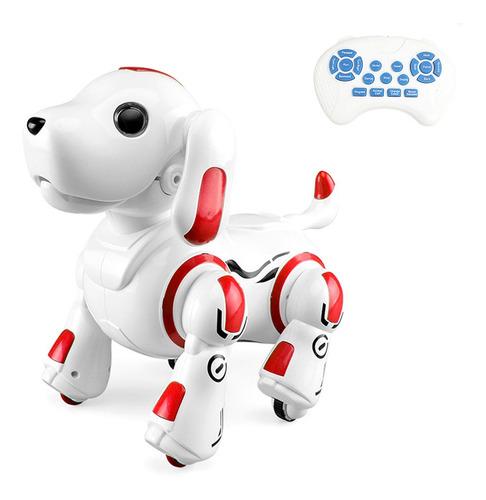 Imagen 1 de 10 de Control Remoto 2.4ghz Robot Perro Cachorro Inteligente
