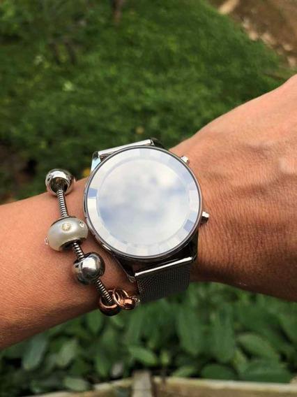 Relógio Feminino Lince Led Espelhado Para Ldm4648l Sxsx