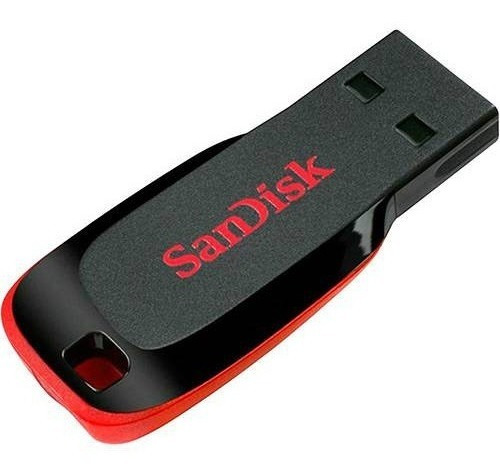 Pen Drive Sandisk Cruzer Blade 4gb * Usado *