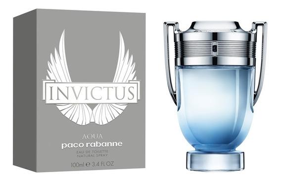 Paco Rabanne Invictus Aqua 100 Ml Edt Spray De Paco Rabanne