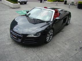 Audi R8 Spider V10 2012 Negro