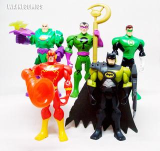 Batman Brave & Bold Lote X5 Flash Acertijo Green Lantern Lex