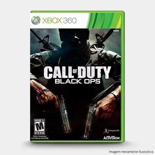 Jogo Call Of Duty Black Ops 1 Xbox 360 Originail Lacrado