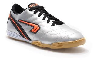 Tênis Masculino Futsal Indoor Prata Plakar 2012-5