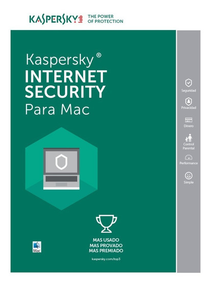 Licencia Kaspersky Internet Security Para Mac 1 Equipo 1 Año