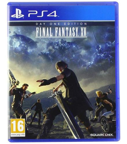 Juego Fisico Original Final Fantasy Xv Ps4