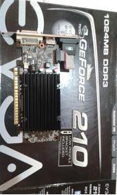 Placa De Vídeo Nvidia Gt 210 Low Profile 1gb Ddr3