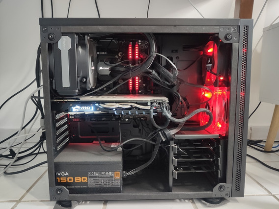 Pc Gamer I7 8700 3.2ghz - 16gb Ddr4 3000mhz - Ssd 480gb