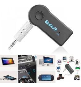 Bluetooth P2 Receptor Auxilar Carro Som Audio iPhone Sem Fio