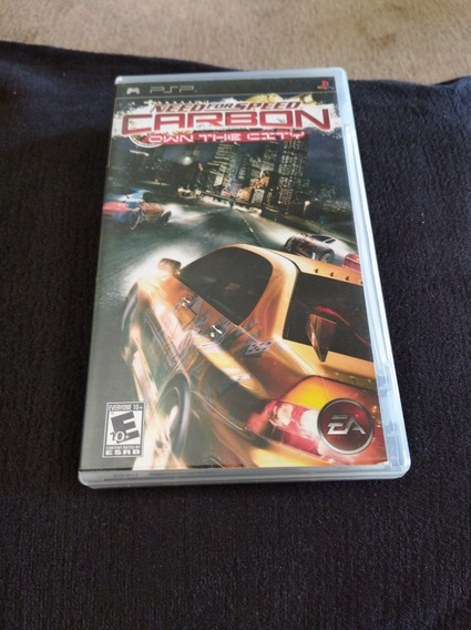 Jogo Need For Speed Carbon Own The City, Psp Sony Umd