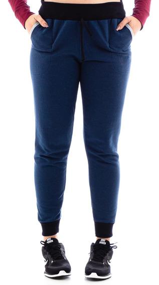 Calça Moleton Feminina Atacado Slim Casual Fit Plus Size