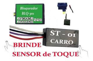 2 X Bloqueador Eletrônico Univ Carro Br Car Sensor St-01