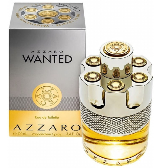 Perfume Azzaro Wanted Masculino Edt 100ml 12x Sem Juros