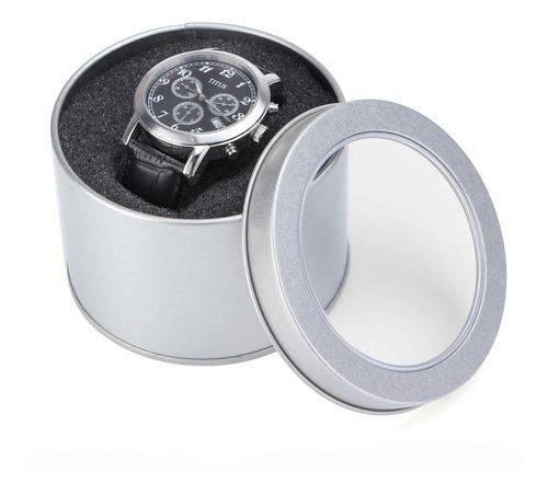 Lata Estuche Guarda Relojes X Unidad!!! Envios