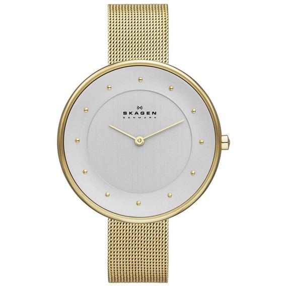 Relógio Skagen Feminino Slim Analógico Skw2141/4kn