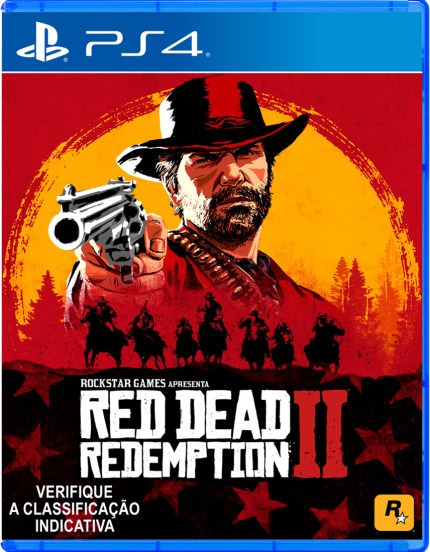 Red Dead Redemption 2 - Ps4 - Mídia Física - Nv