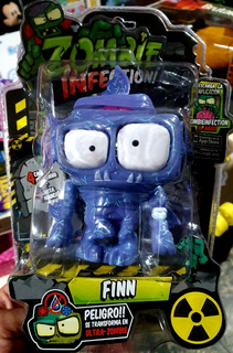 Muñeco Zombie Infection 2 Finn Original Faydi 11 Cm Jretro