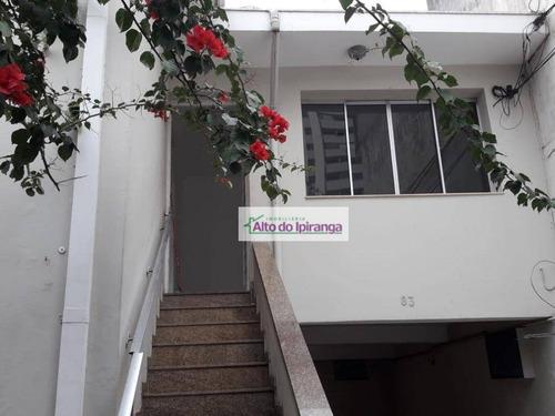 Casa Com 6 Dormitórios À Venda, 203 M² - Vila Gumercindo - São Paulo/sp - Ca0255