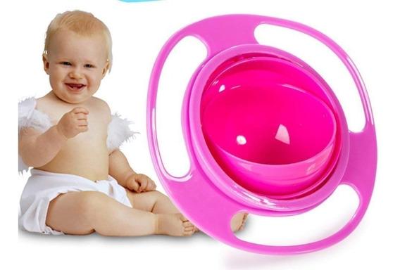 Plato Para Bebé Y Niños Giratorio Antivuelco Gyro Bowl