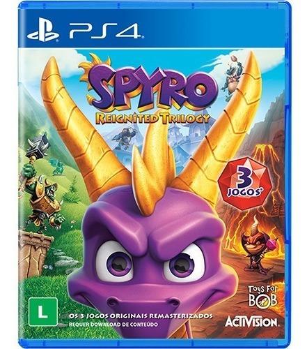 Spyro Reignited Trilogy - Ps4! Mídia Física - Lacrado!