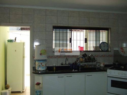 Casa Residencial À Venda, Assunção, São Bernardo Do Campo. - Ca0721