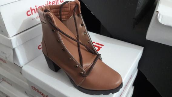 Bota Coturno Sapato Feminino Chiquiteira Chiqui/4104