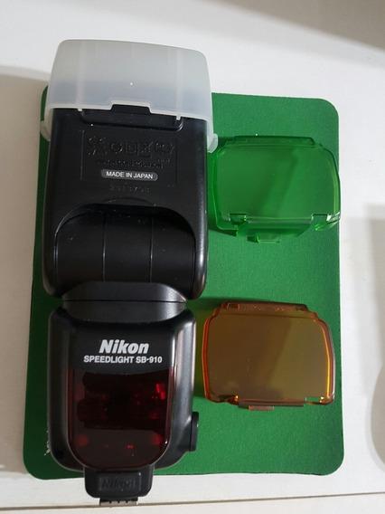 Flahs Nikon Sb910r Usado