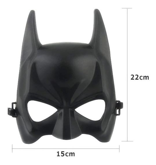 Mascara Antifaz Murcielago Dura Rigida Pvc Cotillon