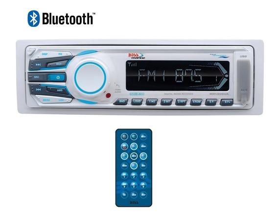 Som Marinizado Barco Lancha Bluetooth Mp3 Boss Marine Mr1308