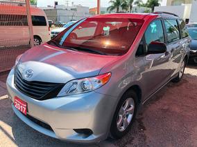Toyota Sienna Ce 2017 Iva Credito Recibo Auto Financiamiento
