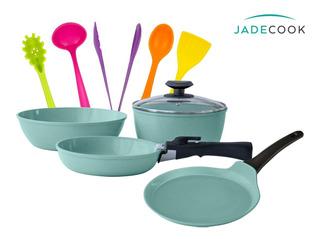 Jade Cook Smart Batería + Comal Y Utensilios Jade Cook