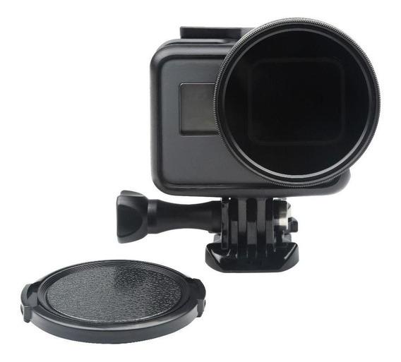 Filtro Polarizado Cpl 52mm Tampa Da Lente Para Gopro 5-7