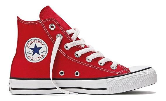 Zapatilla Converse All Star Hi Rojo